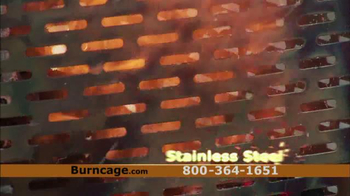 DR BurnCage TV Spot, 'Burn the Safe Way' - Thumbnail 6