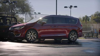 2017 Chrysler Pacifica TV Spot, 'Tennis, Strong Dad Brand' Ft. Jim Gaffigan - Thumbnail 3