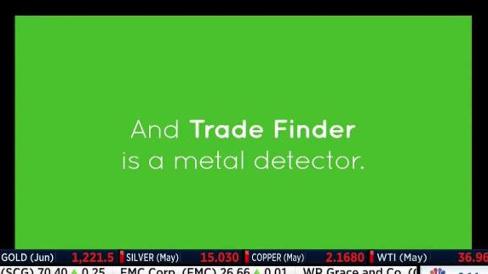 TD Ameritrade Trade Finder TV Commercial, 'Metal Detector'