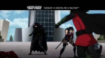 Justice League vs. Teen Titans Home Entertainment TV Spot - Thumbnail 2