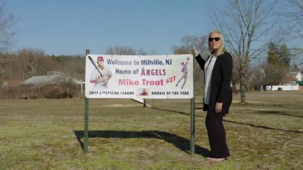 new concept 7270b cf2e5 MLB.com TV Commercial, '#THIS: Mike Trout's Mom' - Video