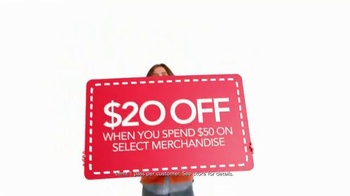 Macy's One Day Sale TV Spot, '$20 Off' - Thumbnail 5
