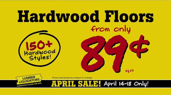 Lumber Liquidators April Sale TV Spot, 'Unheard of Deals' - Thumbnail 6
