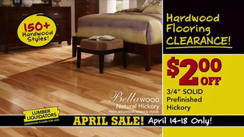 Lumber Liquidators April Sale TV Spot, 'Unheard of Deals' - Thumbnail 7