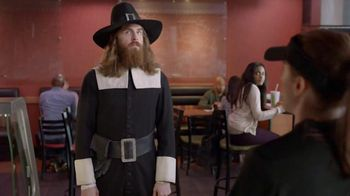 Subway Carved Turkey and Bacon Sandwich TV Spot, 'Pilgrim Approved' - 2316 commercial airings
