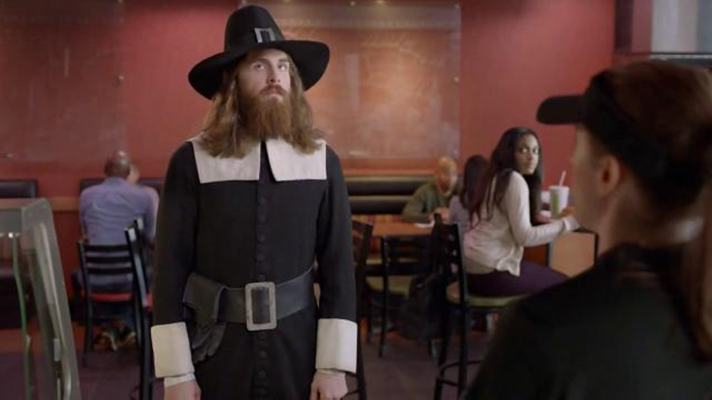Subway Carved Turkey and Bacon Sandwich TV Commercial, 'Pilgrim Approved'