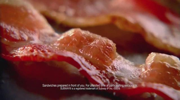 Subway Carved Turkey and Bacon Sandwich TV Spot, 'Pilgrim Approved' - Thumbnail 9