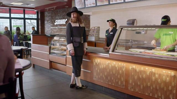 Subway Carved Turkey and Bacon Sandwich TV Spot, 'Pilgrim Approved' - Thumbnail 6