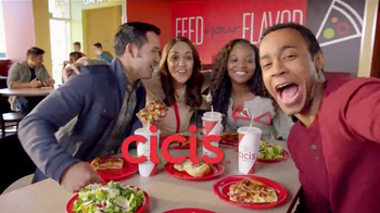CiCi's Flatbread Pizzas TV Spot, 'More to Explore' - 1937 commercial airings