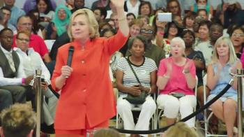 Hillary for America TV Spot, 'The Same' - Thumbnail 7