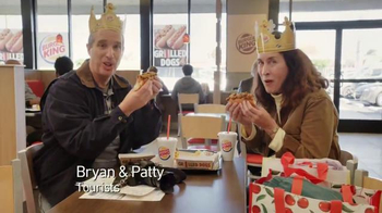 Burger King Chili Cheese Grilled Dog TV Spot, 'Tourists' - 2160 commercial airings