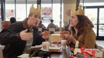 Burger King Chili Cheese Grilled Dog TV Spot, 'Tourists' - Thumbnail 5