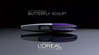 L'Oreal Paris Butterfly Sculpt TV Spot, 'Longer, Fuller Lashes' - Thumbnail 8