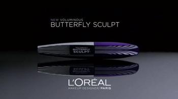 L'Oreal Paris Butterfly Sculpt TV Spot, 'Longer, Fuller Lashes' - Thumbnail 1