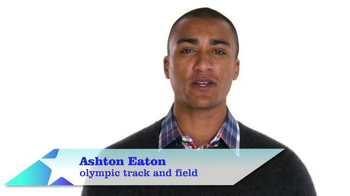 The More You Know TV Spot, 'Volunteer' Featuring Ashton Eaton - 12 commercial airings