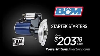 PowerNation Directory TV Spot, 'Gauges, Headers, Starters and Engine'