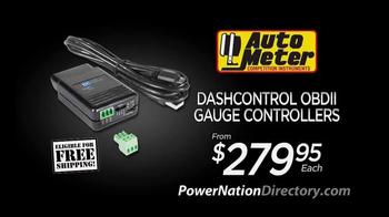 PowerNation Directory TV Spot, 'Gauges, Headers, Starters and Engine' - Thumbnail 3