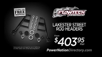 PowerNation Directory TV Spot, 'Gauges, Headers, Starters and Engine' - Thumbnail 4