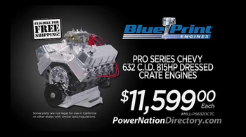 PowerNation Directory TV Spot, 'Gauges, Headers, Starters and Engine' - Thumbnail 6