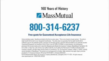 MassMutual Guaranteed Acceptance Life Insurance TV Spot, 'No Obligation' - Thumbnail 8