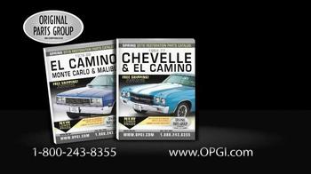 Original Parts Group Inc TV Spot, 'Chevelle, El Camino and Monte Carlo' - Thumbnail 3