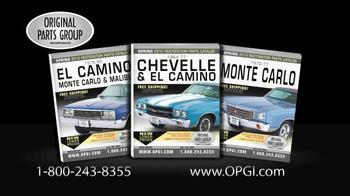 Original Parts Group Inc TV Spot, 'Chevelle, El Camino and Monte Carlo' - Thumbnail 4