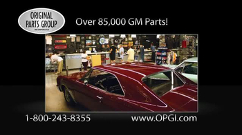 Original Parts Group Inc TV Spot, 'Chevelle, El Camino and Monte Carlo' - Thumbnail 6