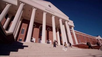 Liberty University TV Spot, 'Matthew, Mark, Luke & Debbie' - Thumbnail 4