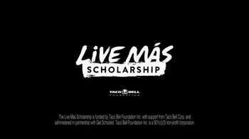 Taco Bell Live Mas Scholarship TV Spot, 'Calvin's Story' - Thumbnail 6