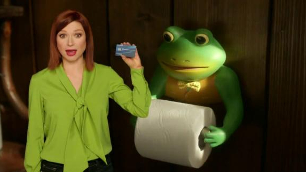 Chase Freedom Unlimited Tv Commercial The Haunting Frog Ad Feat Ellie Kemper Ispot