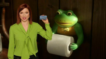 Chase Freedom Unlimited TV Spot, 'The Haunting Frog Ad' Feat. Ellie Kemper - Thumbnail 1