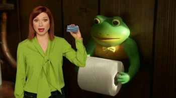Chase Freedom Unlimited TV Spot, 'The Haunting Frog Ad' Feat. Ellie Kemper