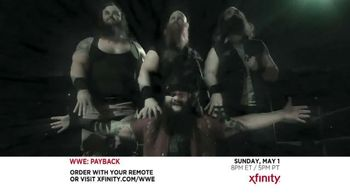 XFINITY On Demand Pay-Per-View TV Spot, 'WWE: Payback'