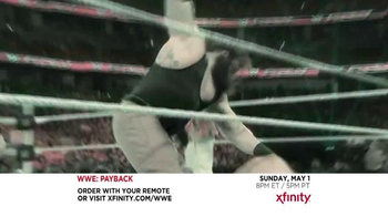 XFINITY On Demand Pay-Per-View TV Spot, 'WWE: Payback' - Thumbnail 2