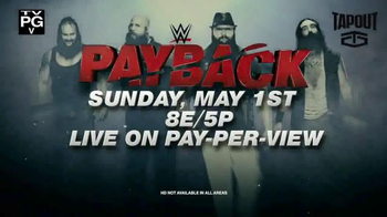 XFINITY On Demand Pay-Per-View TV Spot, 'WWE: Payback' - Thumbnail 8