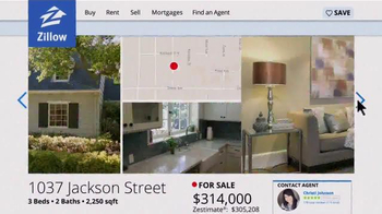 Zillow TV Spot, 'Stacy's Home' - Thumbnail 3
