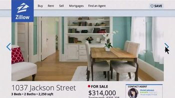 Zillow TV Spot, 'Stacy's Home' - Thumbnail 4