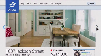 Zillow TV Spot, 'Stacy's Home' - Thumbnail 5