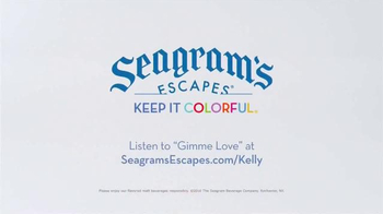 Seagram's Escapes TV Spot, 'Kelly Rowland Keeps It Colorful' - Thumbnail 4