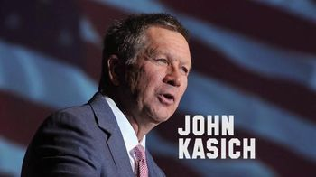 Kasich for America TV Spot, 'Values' - 6 commercial airings