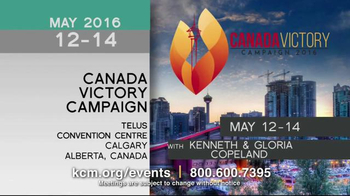 Kenneth Copeland Ministries TV Spot, '2016 KCM Events: Living Victory' - Thumbnail 3