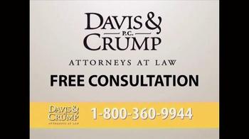 Davis & Crump, P.C. TV Spot, 'Ovarian Cancer' - Thumbnail 9