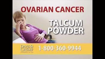 Davis & Crump, P.C. TV Spot, 'Ovarian Cancer' - Thumbnail 1