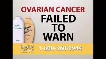 Davis & Crump, P.C. TV Spot, 'Ovarian Cancer' - Thumbnail 6