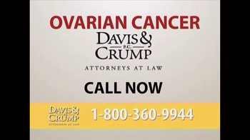 Davis & Crump, P.C. TV Spot, 'Ovarian Cancer' - Thumbnail 7