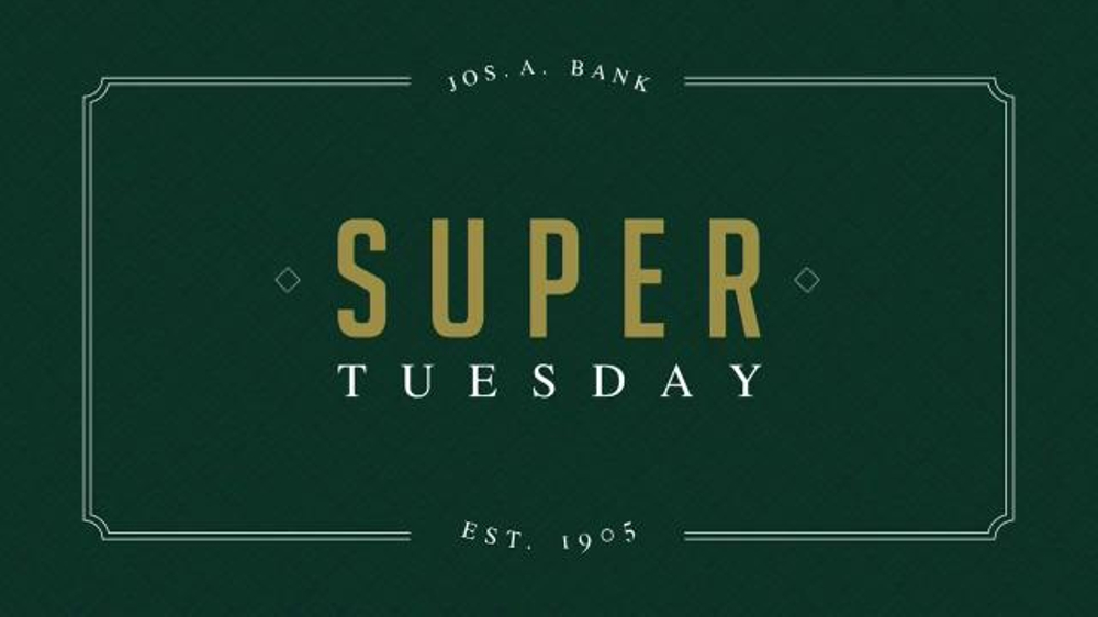 JoS. A. Bank Super Tuesday Sale TV Commercial, 'But One Get One'