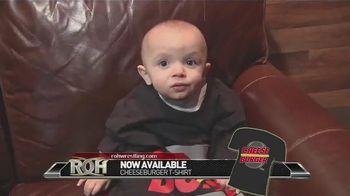 ROH Wrestling TV Spot, 'Cheeseburger T-Shirts'