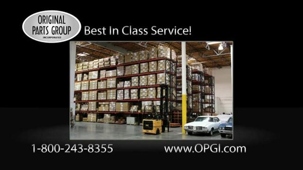 Original Parts Group Inc TV Commercial, 'Pontiac, GTO, and Grand Prix Parts'