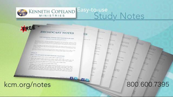 Kenneth Copeland Ministries TV Spot, 'Study Notes' - Thumbnail 3