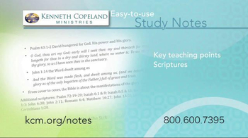 Kenneth Copeland Ministries TV Spot, 'Study Notes' - Thumbnail 4